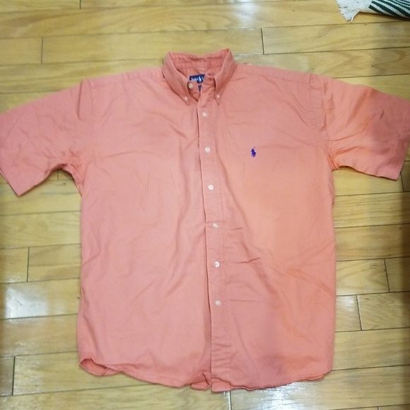 Polo by Ralph Lauren Other - Polo Ralph Lauren Coral Pink Short Sleeved Shirt